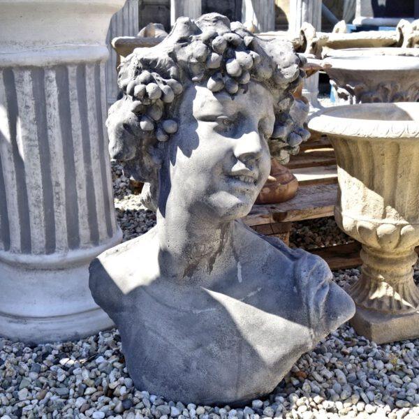 Borstbeeld Bacchus 53cm