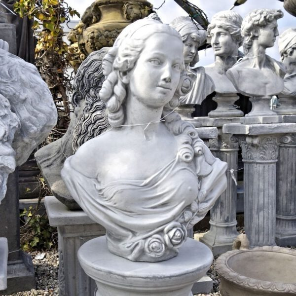 Borstbeeld vrouw 54cm