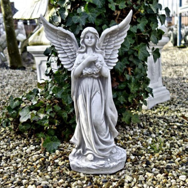 Engel gespreide vleugels