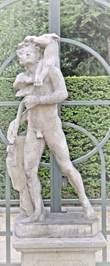 Mann Statue Jäger 1