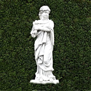 Vrouw met harp 118 cm