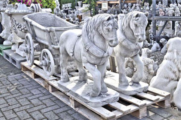 Pferd und kutsche XL