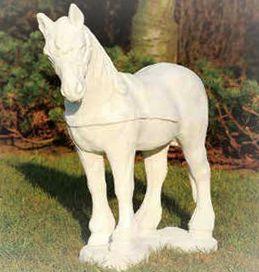 Paard staand