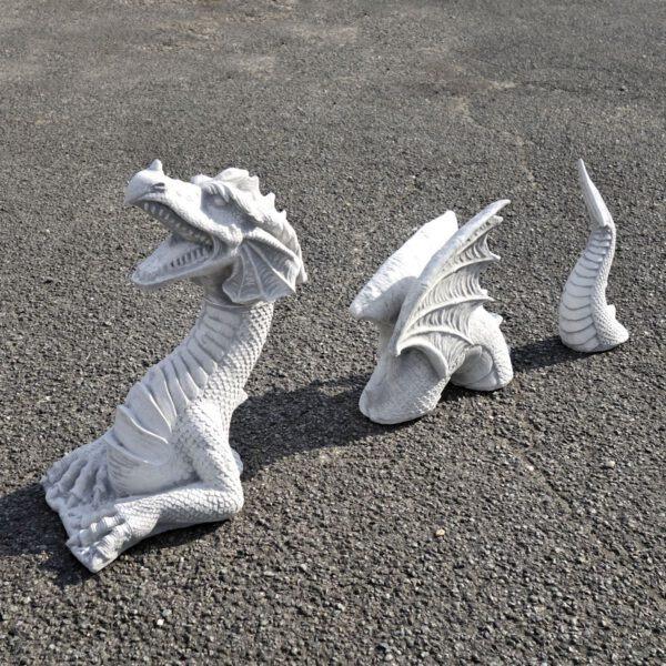 Draak met vleugels