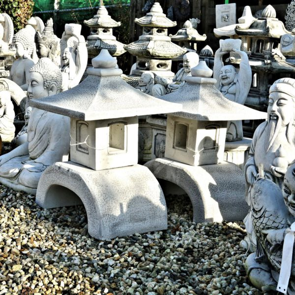 Lantaarn pagode 53cm