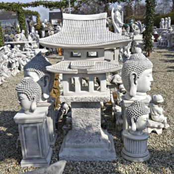 Lantaarn pagode huis 127cm
