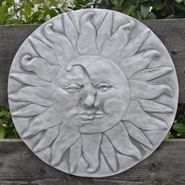 Wanddecoratie Zon maan