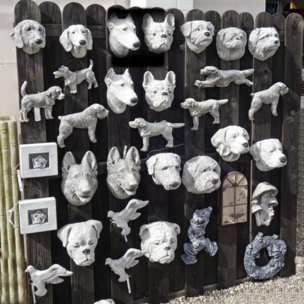Wanddecoratie Honden