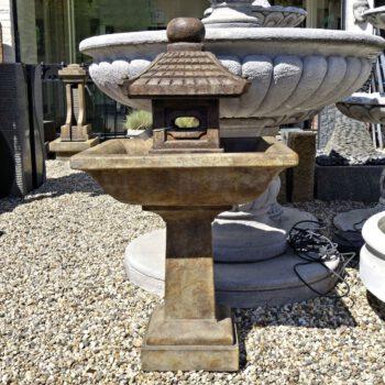 Pagoda Fountain Henri Studio Fontein