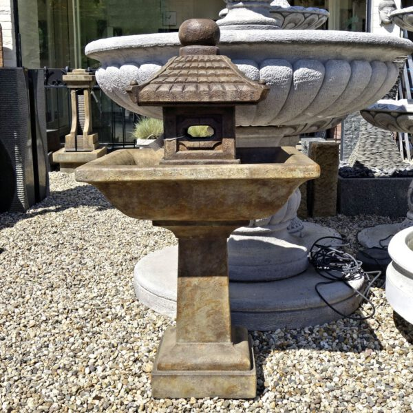 Pagoda Fountain Henri Studio