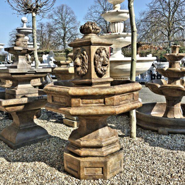 Classic Lion Fountain Henri Studio