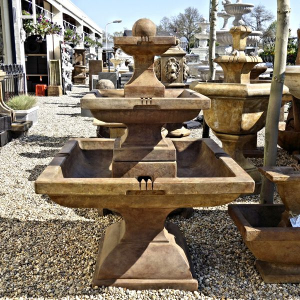 Tall Equinox Fountain Henri Studio