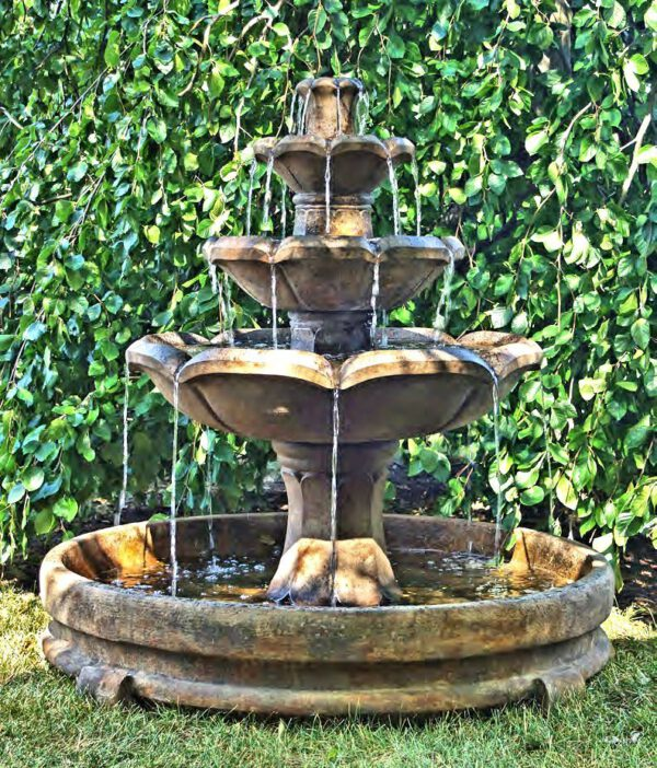 Montreux Three-Tier Fountain