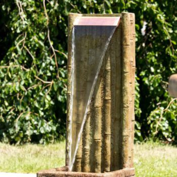 Bamboo Wall Fountain