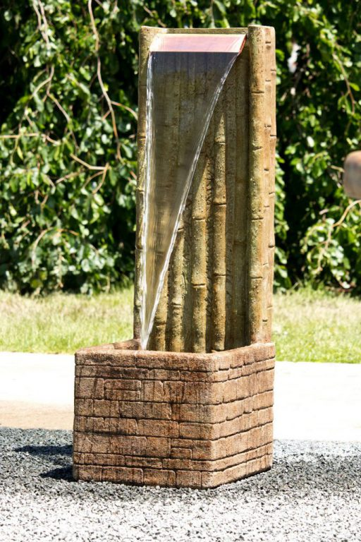 Bamboo Wall Fountain