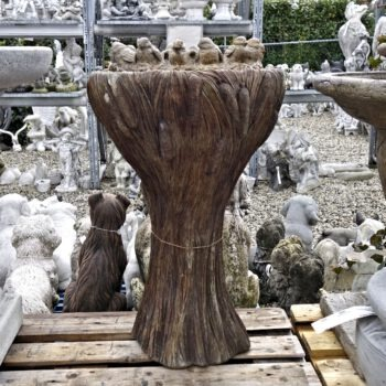 Tall Ring Of Birds Bubbler Fountain