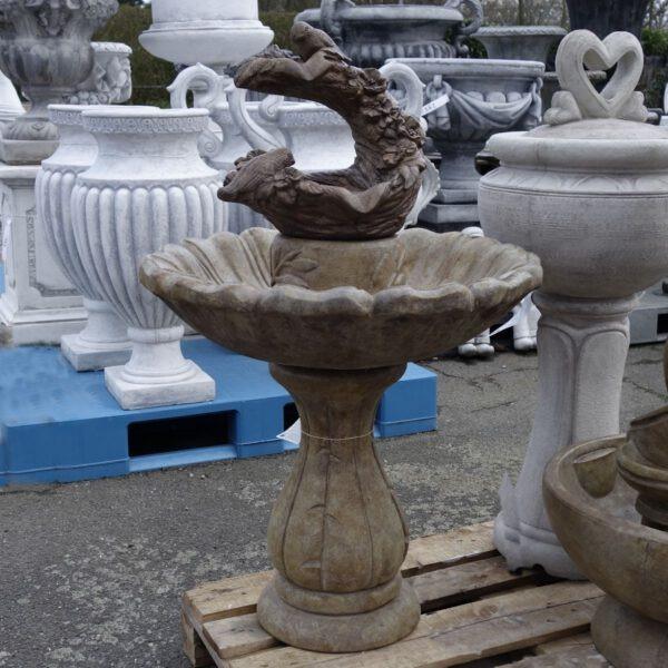 Classic Springtime Fountain