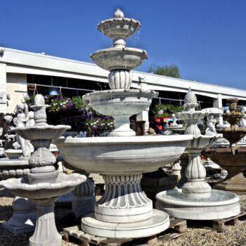 4 Schalen fontein