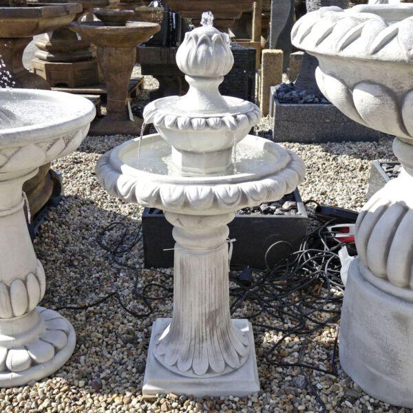 2 Schalen fontein artisjok