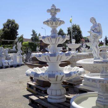 4 Schalen fontein 215cm